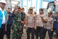 Kapolri-Panglima TNI Tinjau Sejumlah Lokasi Terdampak Banjir