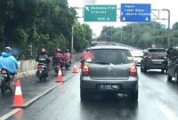 Hindari Banjir, Polisi Izinkan Motor Masuk Tol Bintara-Tanjung Priok