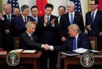 AS-China Tandatangani Kesepakatan Perdagangan Fase Satu