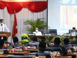 Wako Sampaikan Sambutan Perdana Pada Rapat Paripurna DPRD