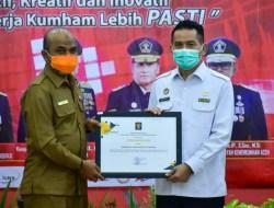 Aceh Tamiang Raih Penghargaan dari Kemenkumham