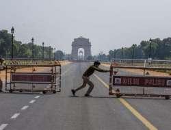 India Alami Lonjakan Corona Secara Drastis,New Delhi Terapkan Lockdown