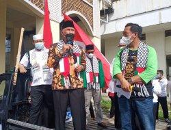 Gubernur Sumatera Barat Dukung Puluhan Ormas Sumbar Gelar Aksi Solidaritas Palestina