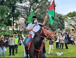 Walikota Sukabumi Terima dan Siap Salurkan Donasi Bantuan Palestina