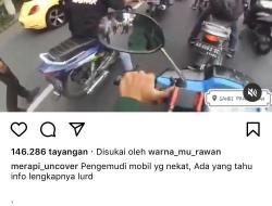 Mobil Nekat Terobos dan Tabrak Polisi di Pos Penyekatan Prambanan
