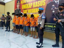 Polisi dan TNI Berhasil Ringkus Enam Pelaku Pengeroyokan TNI AL di Sidoarjo