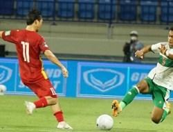 Timnas Indonesia Dihajar Vietnam 0-4