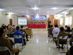 Wakil Bupati Halmahera Selatan Membuka Kegiatan Advokasi Vaksin Covid-19