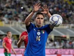 Federico Chiesa Man of the Match Italia vs Bulgaria