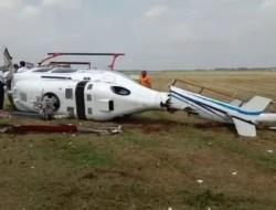 Sebelum Jatuh, Helikopter Kemenhub Sempat Terbang 100 Meter
