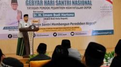 Peringatan Hari Santri Nasional, Wakil Wali Kota Depok Ajak Santri Ikut Berkontribusi Bangun Depok