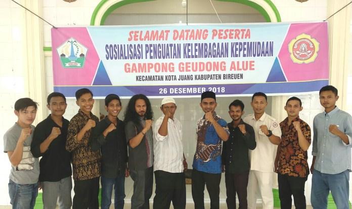 Rencana Pembentukan Karang Taruna Gampong Geudong Alue, Digelar Sosialisasi Penguatan Kelembagaan Kepemudaan
