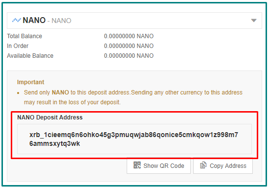 Mining Altcoin NANO lewat Android 2