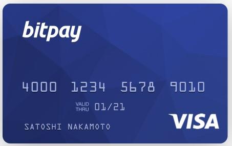 Kartu Debit Bitcoin Bitpay