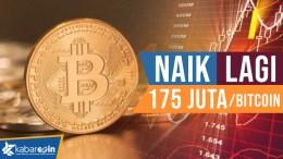 Penyebab harga bitcoin naik