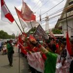 Mahasiswa Makassar Tolak Kedatangan SBY
