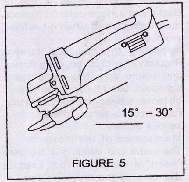 Angle grinder Figure 5