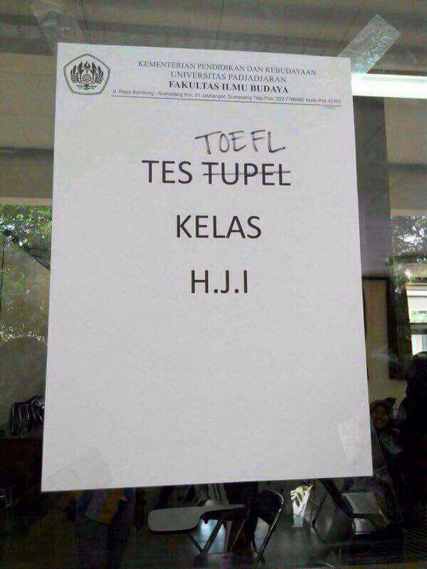 TES TUPEL TOEFL