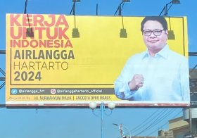 Poster Airlangga Hartarto 2024
