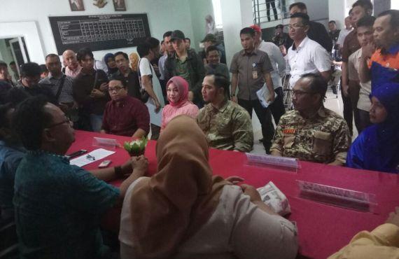 MajuIndependen, Pasangan AKHOR Daftar ke KPU Kota Palembang
