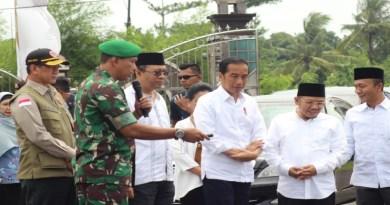 Dihadapkan Presiden, Danrem 162/WB Paparkan Proses Pelayan Terpadu Rehab Rekon