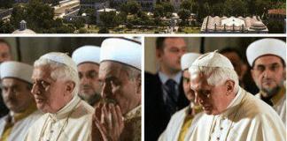 Paus solat,paus masuk islam,paus benediktus