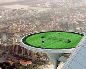 Lapangan Tenis Burj Arab