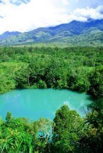 Telaga Biru di Wamena