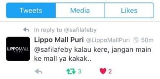 #KamiKereLippoMall, lipo mall puri, trending topic