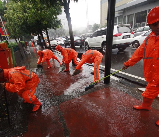 banjir, DKI Jakarta, Pasukan Orange