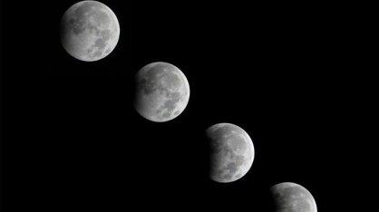 Tahapan gerhana bulan total