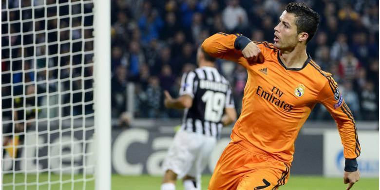 Cristian Ronaldo. FOTO/KOMPAS