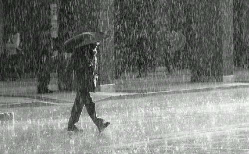 Ilustrasi Hujan.