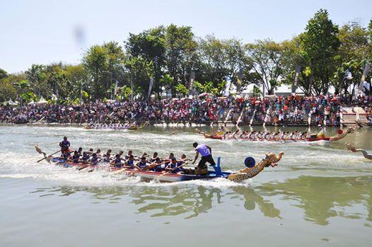 Ajang Dragon Boat Internasional. Foto : Istimewa