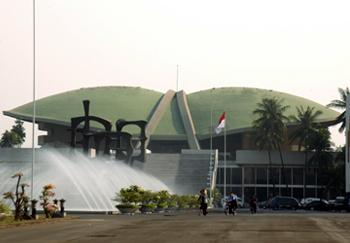 Gedung DPR RI. Foto : Seputarnusantara.com