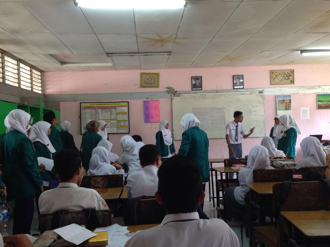 Antusias Siswa SMA saat Sosialisasi. Foto : Hindun Mila Hudzaifah