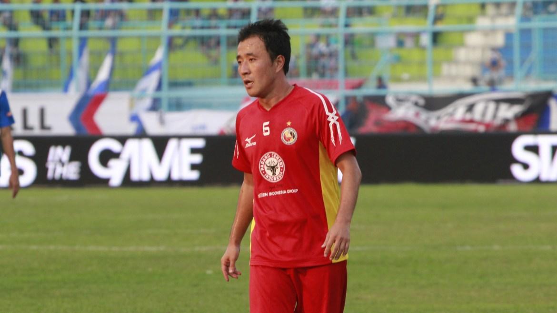 Pemain Semen Padang FC, Yu Hyun Koo. Foto : Goal