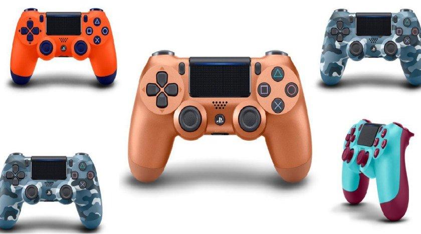 Sony Tunjukkan Dualshock 4 Controllers Berwarna