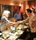 Walikota Tangsel Airin Rachmi Diany bersama Wakil Gubernur DKI Jakarta Basuki Tjahaja Purnama (Ahok)