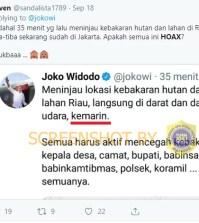 [SALAH] Padahal Baru 35 Menit Lalu di Riau, Tiba-Tiba Sekarang Sudah Di Jakarta