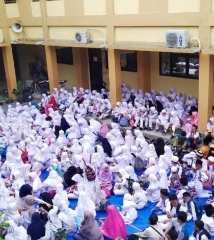 Peringatan Maulid Nabi Muhammad SAW di SDN Serua 03 Ciputat Tangsel