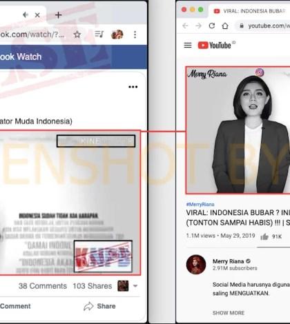 """[SALAH] Video """"INDONESIA AKAN BUBAR"""""""