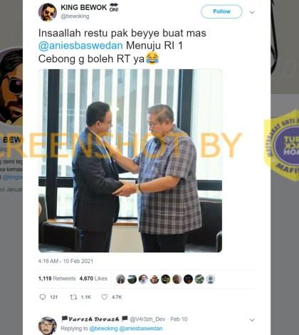 [SALAH] Foto SBY Beri Restu Anies Baswedan Menuju RI 1