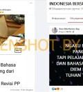 [SALAH] Pancasila dan Bahasa Indonesia Dihapus dari Kurikulum Pendidikan Tinggi