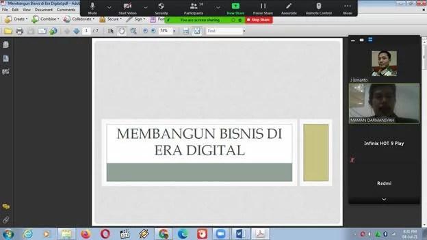 Perantau Cilacap Diskusi Digital Marketing Bareng Dosen Unpam