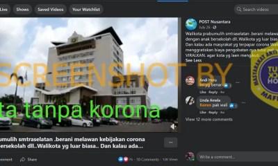 [SALAH] Video Kota Prabumulih tanpa Korona