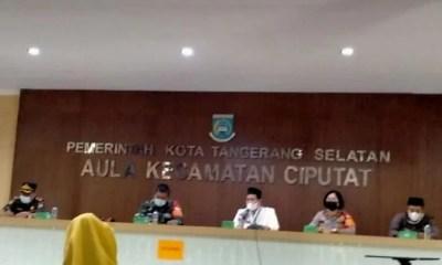 Rapat Koordinasi Tiga Pilar Kecamatan Ciputat Timur Tangsel
