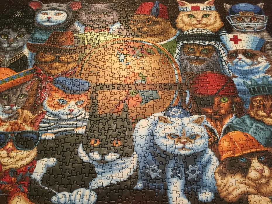 puzzle - worldly cats