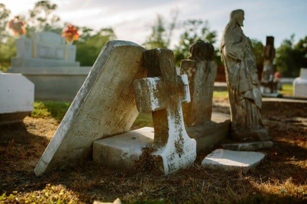 blog - gravestones