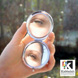 Compact Mirror with KE Logo